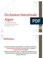 Occlusion ale Aigue DR ACHAB