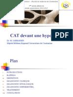 CAT devant une hypocalcémie.ppt