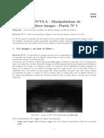 TP Manipulations des fichiers images
