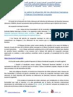 CODESA - El Tercer Informe Breve Sobre La Situación de Los Derechos Humanos en el Sahara Occidental
