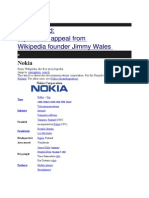 Promotional Strategies of Nokia