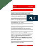 checklist Guantes