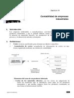 contabilidad de empresas industriales