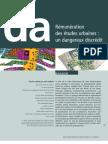 Revue dA Remuneration Des Etudes Urbaines