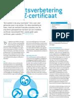 Kwaliteitsverbetering mét HKZ-certificaat