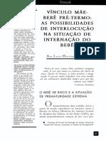 VINCULO  MÃE-BEBÊ   PRÉ-TERMO   AS   POSSIBILIDADES   DE   INTERLOCUÇÃO   NA  SITUAÇÃO  DE  INTERNAÇÃO   DO   BEBÊ.pdf