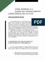A  METÁFORA  PATERNA  E A CONSTRUÇÃO  DO  CONHECIMENTO  COMO  DESEJO  DO  OUTRO.pdf