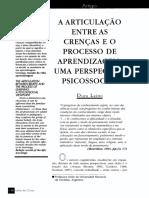 A ARTICULAÇÃO ENTRE  AS  CRENÇAS  E  O  PROCESSO  DE  APRENDIZAGEM UMA PERSPECTIVA PSICOSSOCIAL.pdf