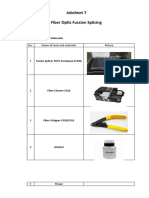 Jobsheet 6-Fusion Splicing Fiber Optic