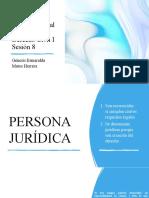 civil I PERSONA JURÍDICA