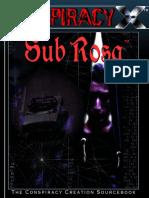 Conspiracy X - Sub Rosa.pdf