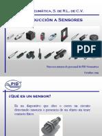 Capacitación sensores PID
