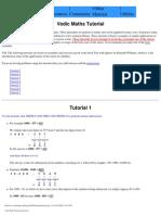 Vedic Maths Tutorial - www.vedicmaths.org