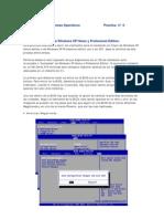 Guía de instalación Windows XP Home y Professional