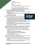 COMPETENCIA DE LOS AUDITORES (1)