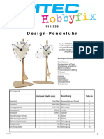 Design Pendeluhr