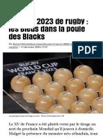 Mondial 2023 de rugby