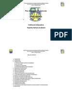 PLAN DE AREA DE PRESCOLAR REALIZADO EN OCTUBRE 2013 CON DOCENTES-2107