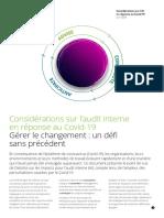 Deloitte Audit Interne Gerer Changement Covid19