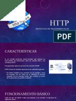HTTP protocolo de transeferenica de hipertexto