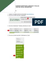 Instructivo Gestión de la Información Laboral
