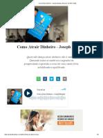 Como Atrair Dinheiro - Joseph Murphy, Resumo Em PDF Grátis