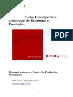 Apostila Dimensionamento e Projeto de Fundacoes Superficiais