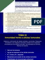 Tema 22 Inmunidad a tumores