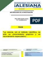 3.2. LOS TIPOS DE  INVESTIG CIENTÍFICA (1)