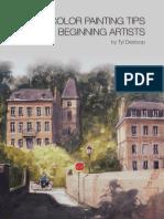 Watercolor Tips E-book