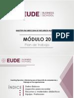 MASTER RRHH  MOD 20 Coaching Ejecutivo y Mentoring para el desarrollo de competencias y liderazgo en las organizaciones