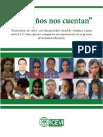 Los niños nos cuentan ICEVI Latinoamérica