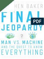 Final Jeopardy by Steven Baker