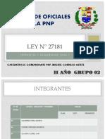 LEY N° 27181 DIAPOSITIVAS