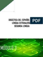 MÓDULO 3. Componentes metodológicos para la enseñanza de ELE2 2018