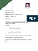 CV ivan Actualizado 02 . 05 . 14