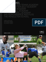 2010 Bollettieri Admission Book