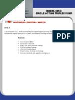 59T-3 Single Acting Plunger Pump Brochure