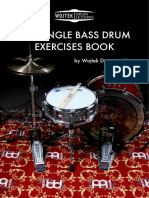 (A4) THE SINGLE BASS DRUM EXERCISES BOOK