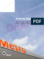 LA Metro Recovery Task Force Draft Final Report