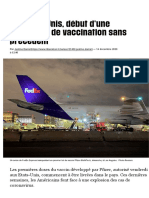 Aux Etats-Unis, début d'une campagne de vaccination sans précédent - Libération