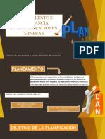 PLANEAMIENTO E IMPORTANCIA DE LAS OPERACIONES MINERAS