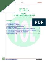 +TEMA 1 LA RELACIÓN LABORAL-2014