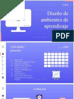 Diseño de ambientes de aprendizaje