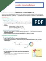 Les Acides Et Les Bases - 3 AC