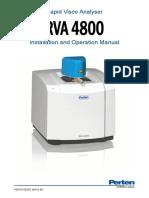 RVA 4800 Installation and Operation Manual 48A EN