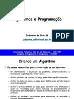 Algoritmos e Programacao - TEORIA - Aula 2.ppt