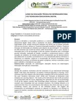 MOTIVAÇÃO DE ALUNOS DA EDUCAÇÃO TÉCNICA EM ENFERMAGEM PARA USO DE TECNOLOGIA EDUCACIONAL DIGITAL