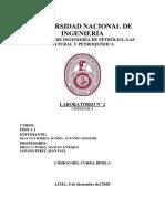 LAB 2 FISICA I - DIAZ GUTIERREZ