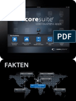 coresuite mobile for iPad - cool business apps